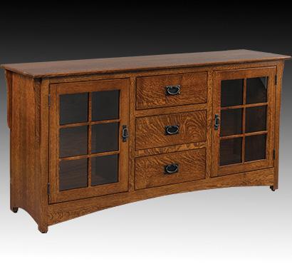 Mentor furniture hidden nook amish furniture tv stands for Tv in furniture hidden